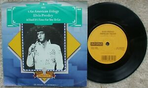 Elvis Presley - American Trilogy / Until It's Time For OLD GOLD 9624 + Green PS