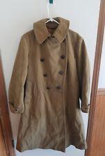 WW1 WWI US U.S. Trench Coat,World War,MIB,Infantry,Officer,1917-1918,Tan,Wool