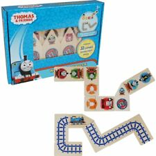 Thomas & Friends - Wooden Dominoes and Track Puzzle NEW