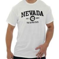 Nevada  Vintage State Graphic Retro Hometown  T-Shirt Tee