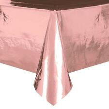 Metallic Rose Gold Foil Table Cover-Party Supplies-Tableware-Table Cloths