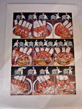 """GUY BUFFET """"THE CARVER""""   - SIGNED LITHOGRAPH NUMBERED  PICTURE"""