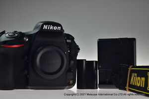 NIKON D810 36.3MP Digital Camera Body Shutter Count 9893 Excellent