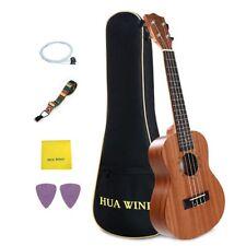 Laminated Mahogany 23 inch Acoustic Concert Ukulele Hawaii Guitar- Strong Wind