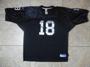 Reebok On Field Oakland Raiders 18 Randy Moss Jersey 56