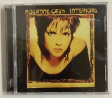 Rosanne Cash Interiors CD Europa 2005 remaster digital + 4 bonus tracks