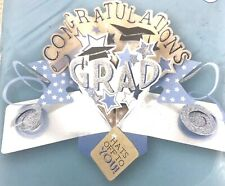 """Graduation Pop Up Greeting Card By Second Nature Pop Ups """"Blue Stars"""""""