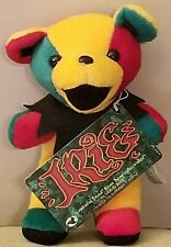 "RARE GRATEFUL DEAD 7"" IRIE BEAN BAG PLUSH COLLECTIBLE JAMAICAN BY LIQUID BLUE"