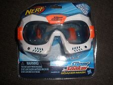 Brand New NERF Super SOAKER MASK Goggles To Be Worn With Blaster