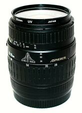 SIGMA Quantaray 55mm / 28-80mm Auto Focus Zoom Lens Aspherical Made in Japan
