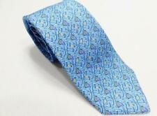 Vineyard Vines Corkscrew and Grape Printed Silk Necktie Tie