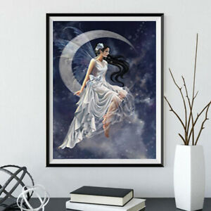 Angel Woman Girl 5D Diamond Painting Drill Embroidery Craft Art Kits Gift