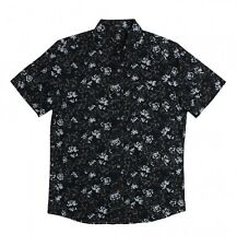 """VOLCOM Men's S/S Button Shirt """"Donnie"""" - BLK - Size Large - NWT - Reg $80"""