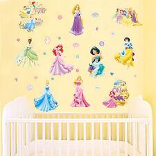 Seven Princess Snow White Wall Sticker Vinyl Decal Kids Girls Room Decor Mural