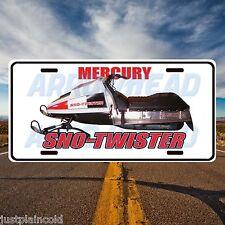 Mercury Sno-Twister Vintage snowmobile style license plate 2