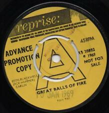 TINY TIM great balls of fire*as time goes by 1969 UK REPRISE PROMO 45