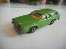 Matchbox Superfast Cougar Villager in Green