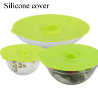 Cooking Utensil Spill Stopper Silicone Lid Universal Pot Covers Bowl Pan
