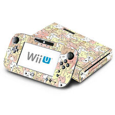 Skin Decal Cover for Nintendo Wii U Console & GamePad - Kitty Cat