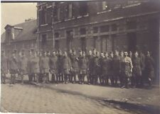 Militaires France Belgique Grande Guerre WW1 Photo Vintage vers 1915