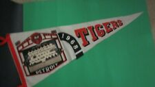 "1968 Detroit Tigers Photo Pennant 29"""