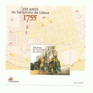 Portugal 2005 - 250 Years Lisboa Tsunami S/S MNH