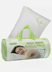 Aloe Vera Bamboo Hypoallergenic Memory Foam King Pillows Cooling technology