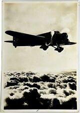 Cartolina Aviazione - In Agguato Sopra Le Nubi - Viaggiata