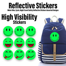 Reflective Stickers Bike Cycle Night Safety Reflective Stickers Assorted Designs