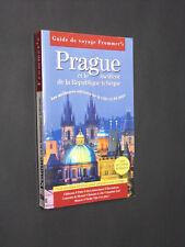 PRAGUE RÉPUBLIQUE TCHÈQUE GUIDE DE VOYAGE FROMMER'S FIRST ÉDITIONS 2000 LIVRE