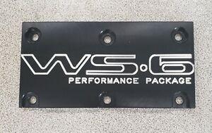 Tpi Lt1 WS6 Throttle Body Cover Plate Pontiac Firebird Trans Am GTA Formula Blac