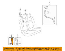 GM OEM Second Row Back Rear Seat Belt-Outer Buckle Right 19301279