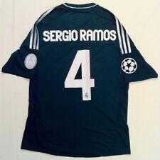 Camiseta Real Madrid Verde Champions League 2012/2013 Firmada por Sergio Ramos