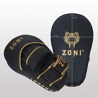 ZONI Boxing Pads MMA Muay Thai Hook & Jab Focus Punch Mitts Kickboxing Training