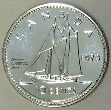 1978 Canada Proof-Like 10 Cents
