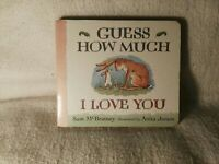Love - Guess How Much I Love You by Sam McBratney Board Book 1996