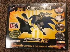 Batman & The Penguin Shadow Tek Cast & Paint Model