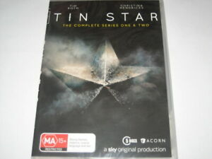 TIN STAR complete series 1 & 2 DVD R4 NEW/SEALED
