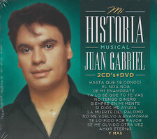 CD - Juan Gabriel NEW Mi Historia Musical 2 CD's & 1 DVD FAST SHIPPING !