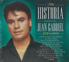 CD - Juan Gabriel NEW Mi Historia Musical 2 CD's & 1 DVD FAST SHIPPING !