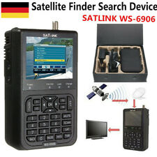 "SATLINK WS6906 3.5"" LCD-Bildschirm Daten-Digital Satelliten Signal Finder H2A5"