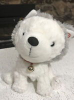 "Hallmark Interactive Story Buddy Jingles Husky 9.5"" Plush Dog Stuffed No book"