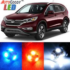 8 x Premium Xenon White LED Lights Interior Package Kit for Honda CR-V + Tool