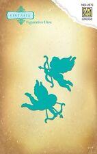 """Stanzschablone -  """"Cupido / Engel""""  von Nellie Snellen (VIND007)"""