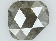 Natural Loose Diamond Antique I1 Clarity Grey Color 9.79 MM 1.37 Ct N6866