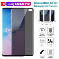 Privacy Anti-Spy Tempered Glass Screen Protector for Samsung Galaxy S10/S10 Plus