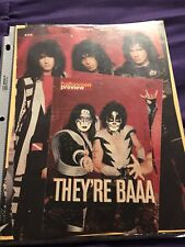 Kiss / Paul Stanley / Gene Simmons clippings