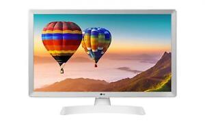 Lg 28TN515S-WZ Monitor TV 28 Pollici HD Ready Smart TV LED DVB-T2 Bianco