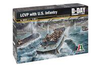Italeri Model kit #6524 1/35 LCVP with U.S. INFANTRY
