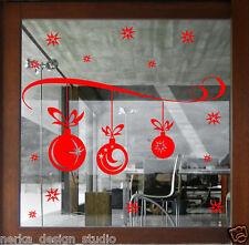 HUGE Christmas Wall Sticker XMAS Shop Window Sticker XMAS STICKER DECAL  NN101